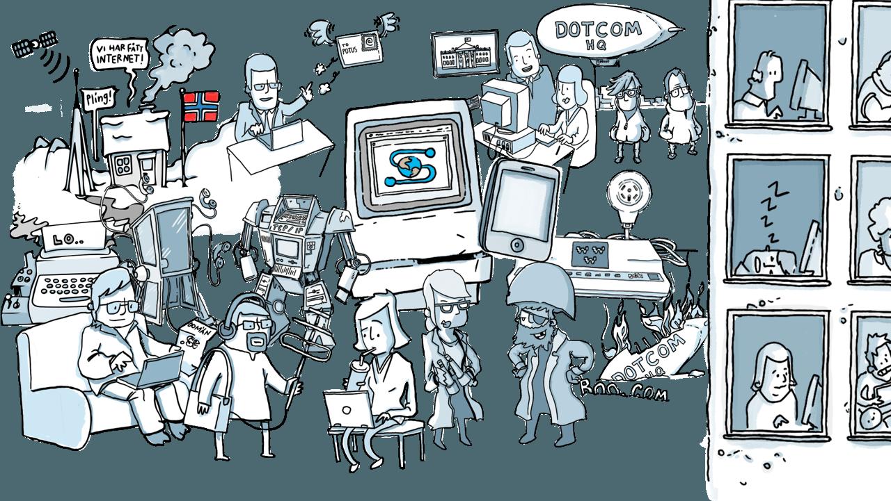 Berättelsen om internet