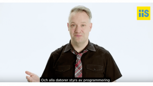 Måns Jonasson, digital strateg på Internetstiftelsen