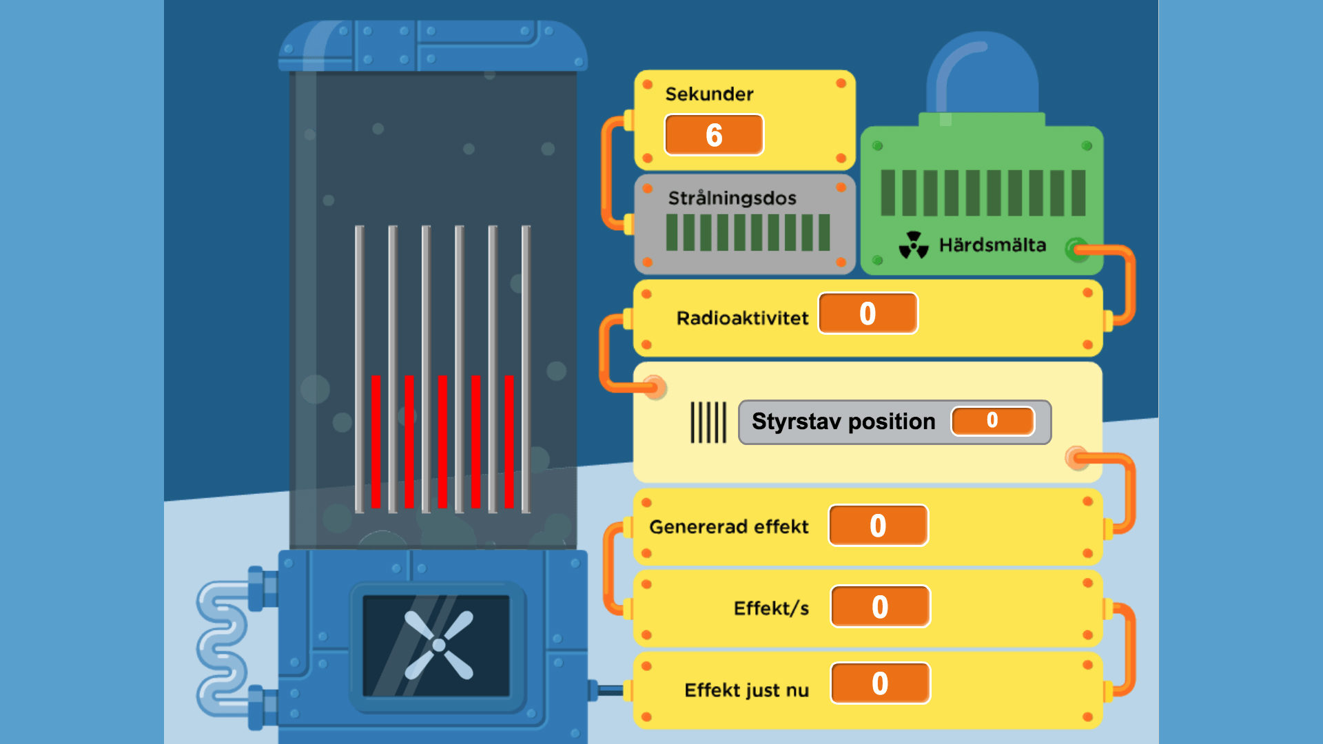 karnkraftverk illustration