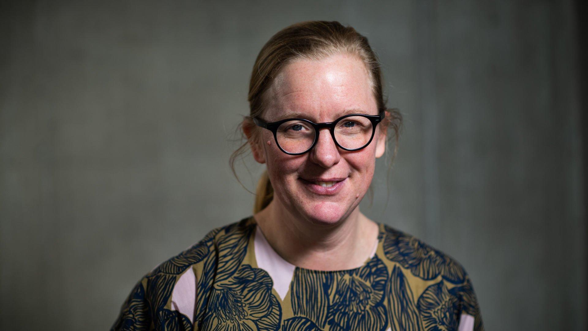 Porträtt av Kristina Alexandersson.