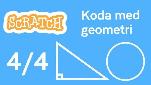 Scratch - koda med geometri